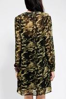 Urban Outfitters ByCORPUS Printed Chiffon Shirtdress