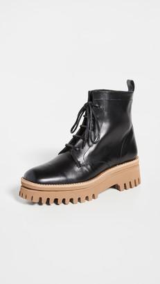 Paloma Barceló Versalles Combat Boots