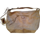 Balenciaga Grey Leather Handbag