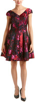 Donna Ricco Fit & Flare Dress