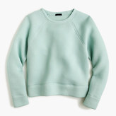 J.Crew Collection sweatshirt in Japanese scuba fabric