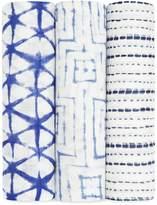 Aden Anais Aden & Anais Bamboo Swaddles (Set of 3), White