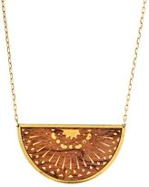 Pamela Love Small Zellij Pendant Necklace