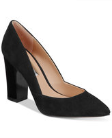 INC International Concepts Women's Eloraa Block-Heel Pumps, Only at Macy's
