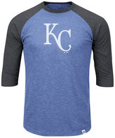 Majestic Men's Big & Tall Kansas City Royals Grueling Raglan T-Shirt