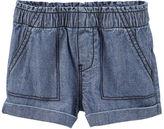 Osh Kosh Pull-On Chambray Shorts