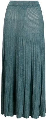 Roberto Collina Pleated Midi Skirt