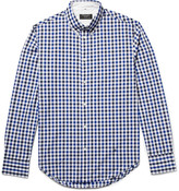 Rag & Bone Tomlin Slim-Fit Button-Down Collar Gingham Cotton-Poplin Shirt
