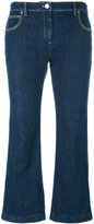 Kenzo cropped flare jeans - women - Cotton/Spandex/Elastane/Other fibres - 36