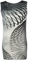 Pleats Please By Issey Miyake pleated sleeveless top