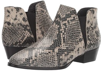 Seychelles Waiting For You (Black/White Python) Women's Boots