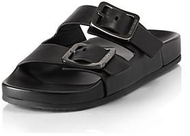 Balenciaga Women's Mallorca Buckle Slide Sandals