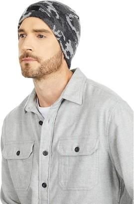 UGG Camo Knit Cuff Beanie (Black Multi) Beanies