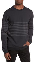 RVCA Men's New Sins Stripe Sweatshirt