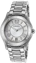 Ebel Women's 1216107 X-1 Analog Display Swiss Quartz Silver Watch