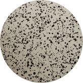 Tisch New York Splatter Place Mat, Black