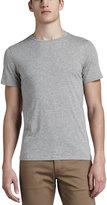 Theory Crewneck T-Shirt, Light Heather Gray