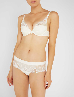 Simone Perele Wish mesh and lace shorts