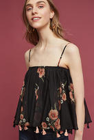 Carolina K. Floral Tasseled Cami