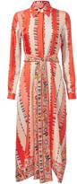 Emilio Pucci Collared Midi Dress