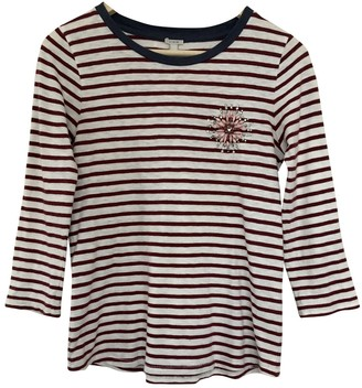 J.Crew \N Red Cotton Top for Women