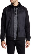 Kenneth Cole New York Full Zip Quilted Front Jacket