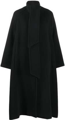 Gianluca Capannolo Oversized Dropped Shoulder Coat