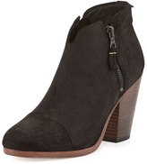 Rag & Bone Margot Leather Ankle Bootie, Black
