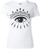 Kenzo eye logo print T-shirt
