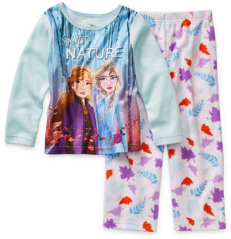Disney Girls 2-pc. Frozen 2 Pant Pajama Set Toddler