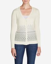 Eddie Bauer Women's Christine Fair Isle Cardigan Sweater