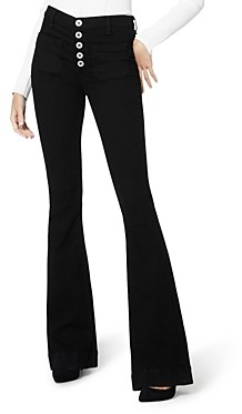 Ramy Brook Cindy Flare Jeans in Black