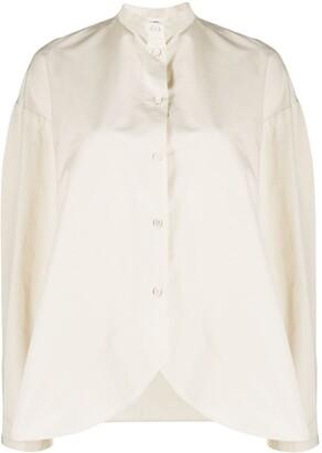 Jil Sander Curved-Hem Shirt
