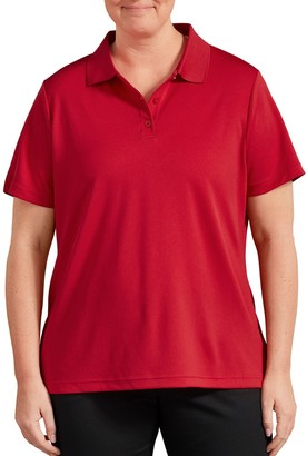 Dickies Plus Size Performance Moisture-Wicking Polo Shirt