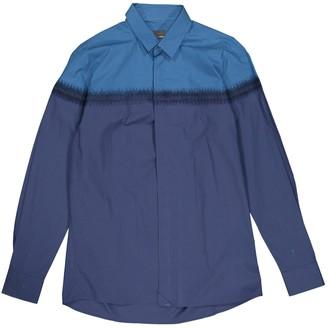 Fendi Navy Cotton Shirts