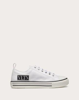Valentino Garavani Uomo Giggies Low-top Fabric Sneaker Man White Cotton 100% 40