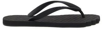 Vetements toe shape rubber flip flops