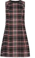 Dorothy Perkins Red Checked Fit and Flare Dress
