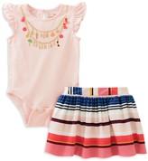 Kate Spade Girls' How Charming Bodysuit & Skirt Set