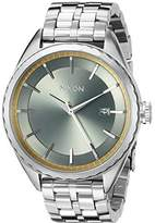 Nixon Women's A9342162 Minx Analog Display Swiss Quartz Silver Watch