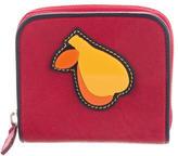 Miu Miu Appliqué Compact Wallet
