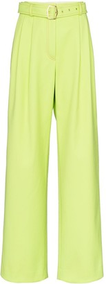 Sies Marjan High-waisted belted trousers
