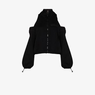 NO KA 'OI Cutout Shoulder Jacket