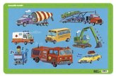 Crocodile Creek Placemats/Vehicles