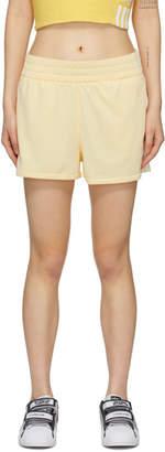 adidas Yellow 3 Stripes Shorts
