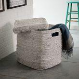 west elm Metallic Woven Oversized Basket