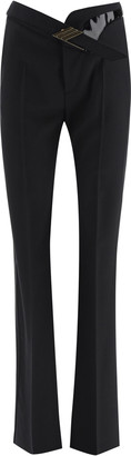 ATTICO Palazzo Trousers With Belt