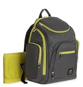 """Baby Boom Babyboom """"All Day"""" Diaper Backpack - gray/sage, one size"""