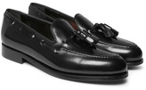 Paul Smith Simmons Tasselled Polished-leather Loafers