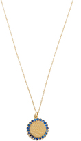 Alison Lou Sapphire & yellow-gold Twister necklace